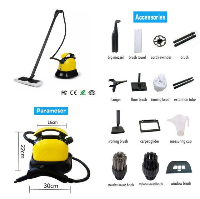 110v 2000w High Pressure Steam Cleaner Steam Cleaning Tool Us Plug For Car Home
