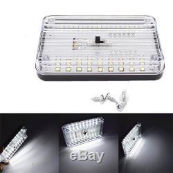 12V 36 White LED Car Interior Dome Roof Ceiling Reading Light Lamp Universal