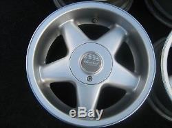 14 8J WIDE alloys 4x100 VW polo golf UP jetta lupo arosa civic MAZDA MX5 corsa