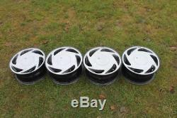 14 CENTRA TURBO alloys 4x100 vw polo golf UP corsa astra nova civic lupo arosa