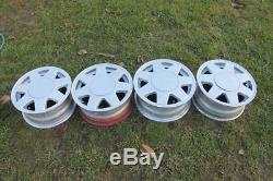 14 OEM VW alloys 4x100 polo golf UP jetta scirocco MK1 GTI breadvan lupo arosa