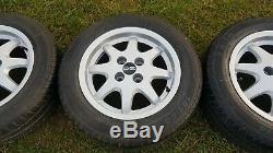 14 alloys +TYRES 4x100 vw caddy polo LUPO AROSA golf astra swift civic corolla