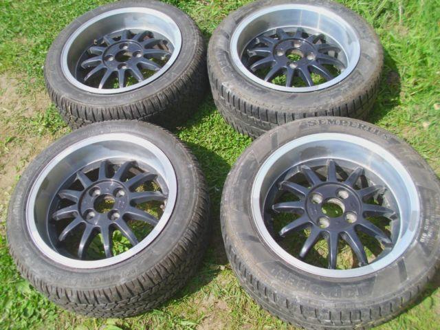 15 Rh Alloys 4x100 Vw Polo Golf Gti Lupo Arosa Astra Mx5 Corsa Bmw E30 Corolla