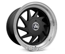 16 Junk Dreg Alloy Wheels e21 e30 Golf mk1 mk2 mk3 Seat Skoda 4X100 8j 9j