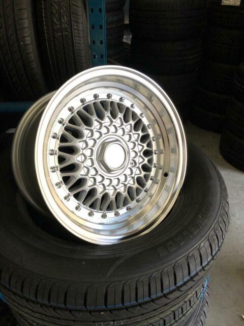 16 Rs Style Alloy Wheels Bmw 3 Series E21 E30 Golf Mk1 Mk2 Mk3 Seat Skoda 4x100