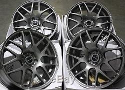 17 Gm X2 Alloy Wheels Fit Vauxhall Opel Astra Corsa Meriva Signum Vectra Zafira