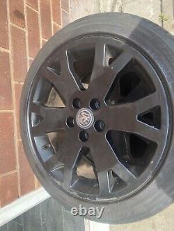 17 Vauxhall Astra Gsi Mk4 Alloy Wheels & Tyres Zafira Gsi Z20 5x110
