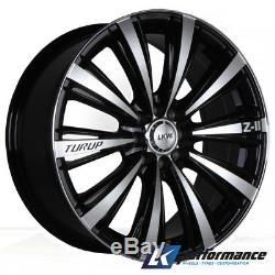 18 5x110 LKW Turip Alloy Wheels Fit For Saab Vauxhall Corsa VXR Astra Signum