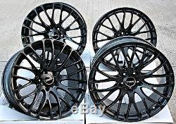 18 Alloy Wheels Cruize 170 MB Matt Black Cross Spoke 5x110 18 Inch Alloys