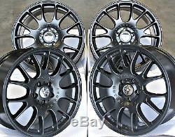 18 Alloy Wheels Mesh Rt MB Fit For Vauxhall Calibra Corsa D & Vxr