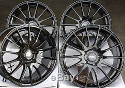 18 Black Alloy Wheels Fit Vauxhall Opel Astra Corsa Meriva Signum Vectra Zafira