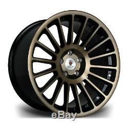 18 Bronze St2 Alloy Wheels Fit Vauxhall Meriva Omega Speedstar Zafira 5X110