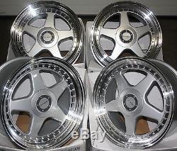 18 Dr-f5 Alloy Wheels Fit Vauxhall Opel Astra Corsa Meriva Signum Vectra Zafira