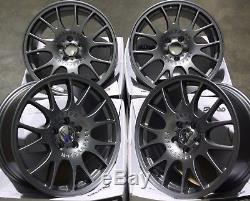 18 Gun Metal Ch Alloy Wheels Fit Vauxhall Opel Astra Corsa Signum Vectra Zafira