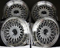 18 Rs Alloy Wheels Fit Vauxhall Opel Astra Corsa Meriva Signum Vectra Zafira
