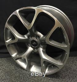 18 Vauxhall Vxr Style Alloy Wheels Fit Astra Corsa Vectra Meriva