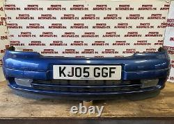 1998-2005 Vauxhall Astra G Mk4 Front Bumper With Spot Lights (Blue, Z20Q)