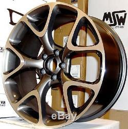 19snowflake gmp alloy wheels Vauxhall Astra/Vectra/Zafira-Alfa 159/Saab-vxr