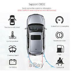 1 DIN Adjustable 10.1'' 2+32GB Car Stereo Radio MP5 Player GPS Wifi 3G 4G BT DAB