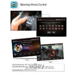1 DIN Android 8.1 10.1 2+32G Car Stereo Radio GPS BT DAB DTV Mirror Link SWC