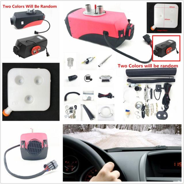 1 Set Universal Red 12v 2000w Professional Car Automobiles Bus Air Diesel Heater