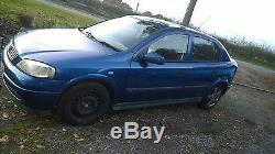 2001 Vauxhall Astra 1.4 Mk4 Breaking Or Full Car Z14xe
