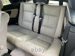 2002 Vauxhall Astra Bertone Mk4 G Convertible Cream Leather Seats Door Cards