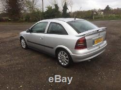 2003 MK4 Vauxhall Astra SXI 1.6 3 Door. LOW MILEAGE