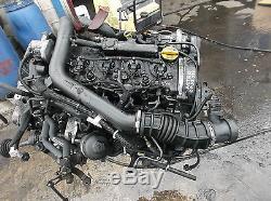 2004 Mk4 Vauxhall Astra 1.7 Cdti Diesel Engine Z17dtl 89k Free P & P