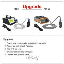 220V Car SUV Body Paintless Dent Removal Repair Tool Induction Heater LCD Screen