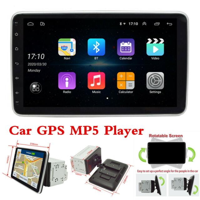 2 Din 9in Android 8.1 Car Stereo Bluetooth Player Gps Sat Nav Wifi Mirror Link