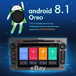 2 Din Android 8.1 Opel VAUXHALL Astra Corsa C Vectra D Meriva Car Radio GPS DAB+