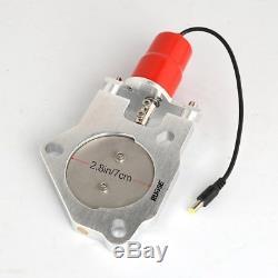 3 Electric Exhaust Catback Control Valve Downpipe Cutout E-Cut Valve+Toggle