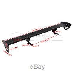43.3 Lightweight Aluminum Single Deck Racing GT Tail Rear Wing Spoiler 110cm