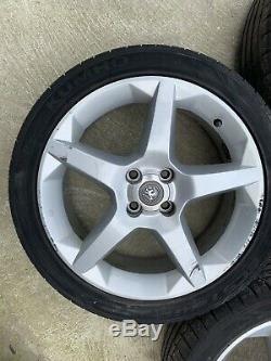 4 Vauxhall 4 Stud 17 Penta Alloys Corsa B C D Combo Van Tigra A B Astra Mk4 Mk5