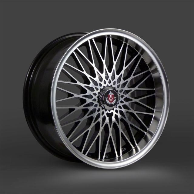 4 X 17 Axe Ex3 Alloy Wheels To Fit Suzuki Mini Vauxhall Mazda Kia