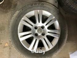 4 x Vauxhall astra mk4 sxi mk5 van meriva 16 inch alloys sri with 2xTires Tyres