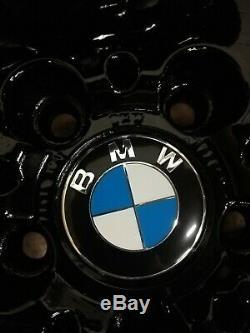 4x BMW VW T5 VIVARO TRAFFIC STYLE 28 15x7J 5x120 BLACK ALLOY WHEELS 36111182607