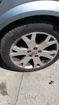 4x vauxhall astra Zafira mk4 gsi snowflake alloy wheels 17 inch
