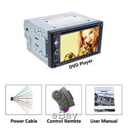 6.2 Car player 2Din Car DVD Radio Mirror Link Autoradio Stereo USB/TF/Bluetooth