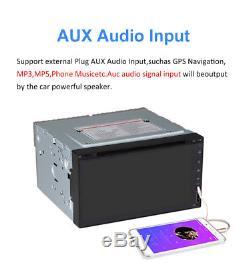 6.952Din Car DVD Multimedia Player Bluetooth autoradio Stereo Audio MP5 Player