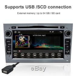 7 2Din Car Stereo Radio Touch Screen DAB For Vauxhall Opel Astra Corsa Zafira