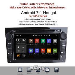 7 Android 7.1.2 Car GPS DVD Stereo Opel Vauxhall Astra Corsa Zafira Vivaro DAB+