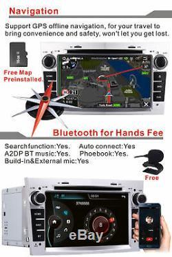 7'' DAB+ BT Sat Nav radio GPS For Vauxhall/Opel/Corsa/Zafira/Astra/Meriva/Antara