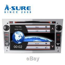 7 NAV SAT GPS CD player for Opel Vauxhall Astra Corsa Zafira Antara Vivaro DAB+