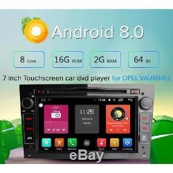 8-Core Android 8.0 Opel VAUXHALL Corsa C Vectra Zafira Meriva Car Radio GPS DAB+