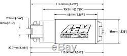AEM 320lph E85-Compatible High Flow COMPACT In-Tank Fuel Pump MITSUBISHI EVO X