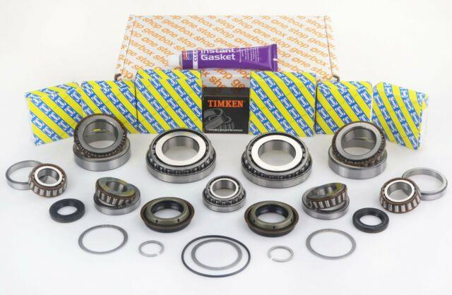 Alfa Romeo, Fiat, Opel, Vauxhall M32 Gearbox Bearing Kit With Seals Shims Silicone