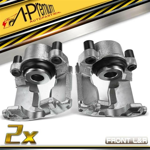 A-premium 2x Front Brake Calipers For Opel Vauxhall Astra Iv G Mk4 90544002