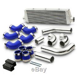 Alloy Front Mount Intercooler Fmic Kit For Vauxhall Opel Astra G Mk4 2.0 Turbo